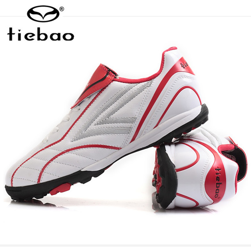 Tiebao Men Boy Kids Soccer Cleats Turf Football Soccer Shoes TF Sneakers Trainers New Design football boots tiebao soccer sport shoes football training shoes slip resistant broken nail professional sports soccer shoes