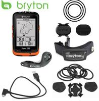 new Bryton Rider 530 GPS Bicycle Bike Cycling Computer & Extension Mount ANT+ Speed Cadence Dual Sensor Heart Rate Monitor
