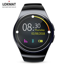 LOKMAT Sport Smart watch Android Phone Pedometer Support SIM Card MTK2502 Digital Smart-watch For iphone