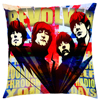 The Beatles Linen Cotton Cushion Cover Rock Band Pillowcase For Bed Room Decorative Cushion Covers Throw