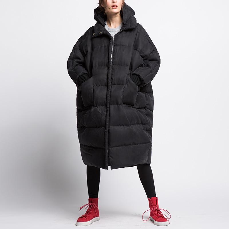 Femelle De Cuprammonuium khaki Manteau 90 Chaud Black Wq514 Canard Capuche Hiver Duvet Confortable Tissu Grande Marque Avec Mode Taille Réel 8qHtwqP