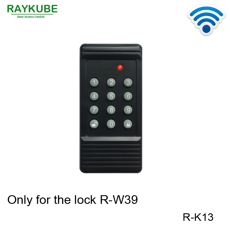 RAYKUBE R-K13 Wireless Password Keypad Work With Our Smart Lock R-W39 get smart our amazing brain