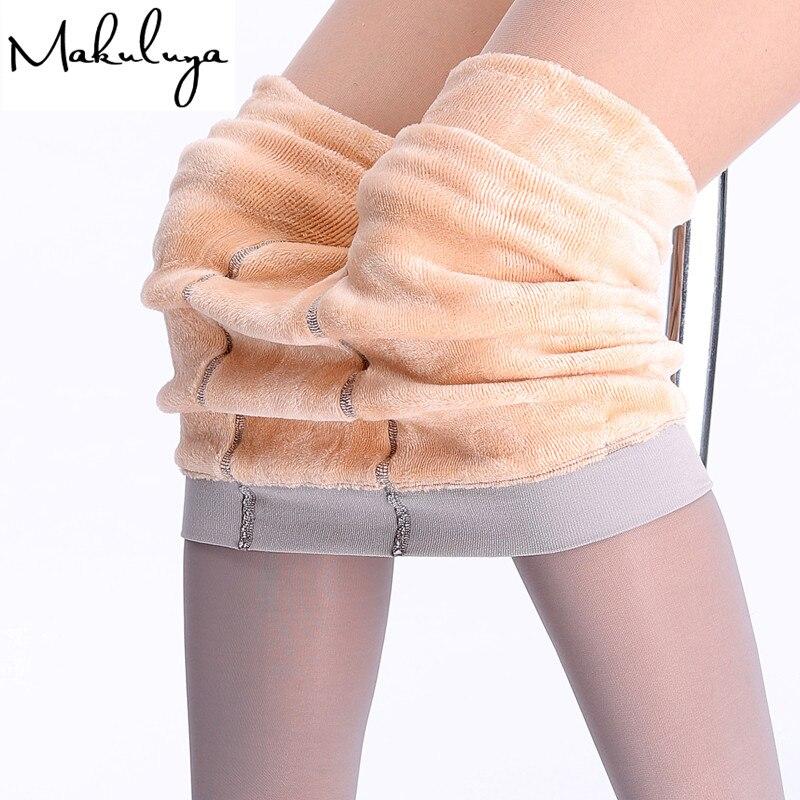 Makuluya Special 2018 New Quality women legging thickening cashmere lock warm leggings sexy super elastic autumn legging BK