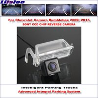 Liislee Intelligentized Reversing Camera For Chevrolet Camaro Bumblebee 2009 2015 Rear View Back Up Dynamic Guidance Tracks