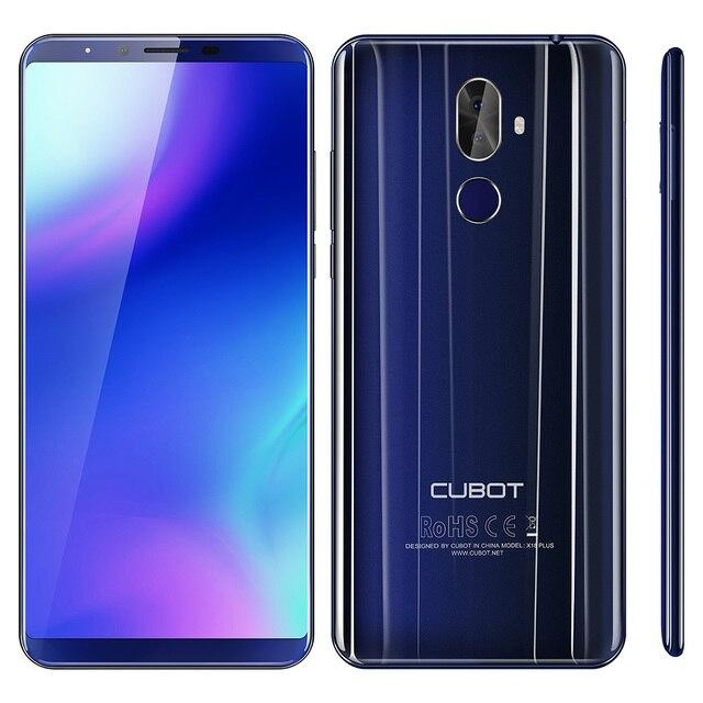 Оригинальный CUBOT X18 Plus 5,99 ''4G смартфон Android 8,0 4 Гб + 64 ГБ 4000 мАч 2160*1080 FHD MTK6750T Восьмиядерный двойной Cam EU
