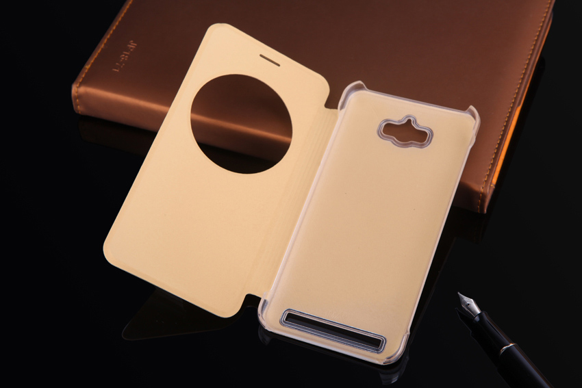 Ultra Slim Fashion Quick Smart Circle View Case Auto Sleep Flip Cover - Accesorios y repuestos para celulares - foto 5