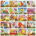20 unids/lote DIY Hecho A Mano 3D autoadhesivas Eva Foam Puzzle Pegatina Eva Artesanía Juguetes de Aprendizaje y Educación Juguetes 18.5 cm * 26 cm