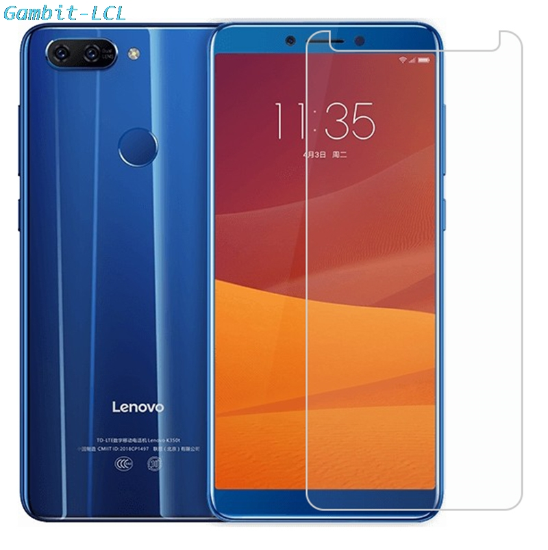 2.5D 9H Premium Tempered Glass For Lenovo K5 (K350t) 5.7