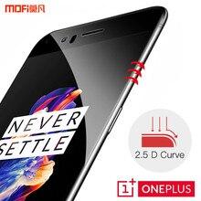 Oneplus 5 стекло oneplus 5 закаленное защита экрана 1 + 5 MOFi оригинальный oneplus 5 безопасности плёнка полностью покрывающая 9 H 2.5D черный op5 стекло