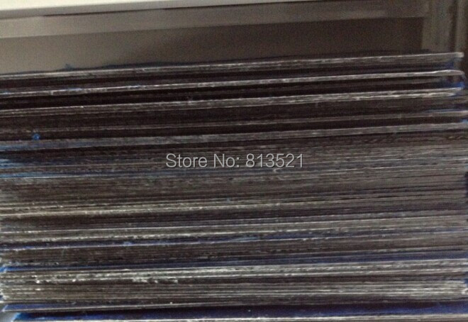 HCF020+ 10pcs 1.5mm thick  400X500mm 100%/Full Carbon fiber twill matte plate/sheet/board whole sale hcf031 4 0x400x250mm 100% full carbon fiber twill weave matte plate sheet made in china