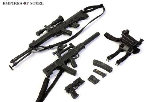 1/6 Scale Distressed Sniper Rifle Pistol Gun Model Toy For 12 Action Figure Accessories magpul g lt p moe sniper rifle limited edition
