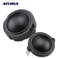 2Pcs 4Ohm 80W 1 5Inch 25Core Tweeter HiFi Speaker Fiber Membrane Rubidium Magnetic Speakers Treble Head