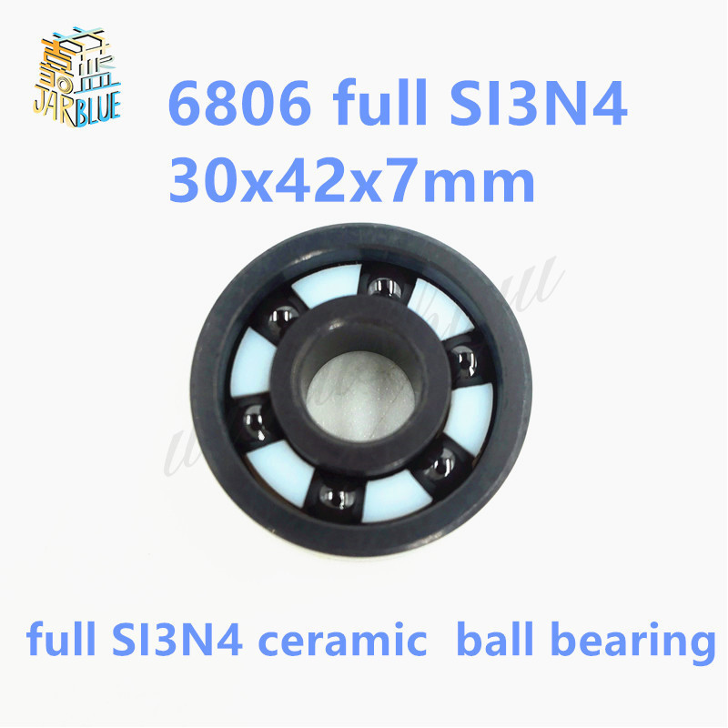 Free Shipping 6806 / 61806 SI3N4 full ceramic bearing 30x42x7mmFree Shipping 6806 / 61806 SI3N4 full ceramic bearing 30x42x7mm
