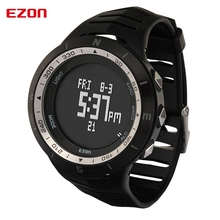 EZON мужчины носят носимых интеллектуальных устройств альпинизм спортивные часы мода часы водонепроницаемые электронные деньги счетчик