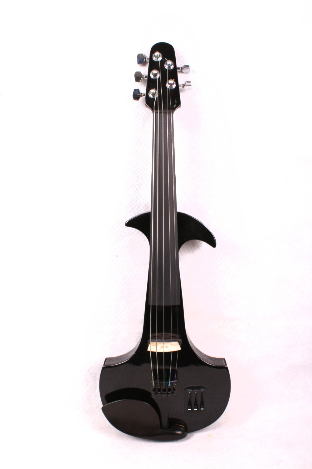 New 5 string 4/4 Electric Violin Flame guitar shape Powerful Sound Big jack #4 mp3 6 string electric violin new 4 4 flame guitar shape solid wood powerful sound6 611
