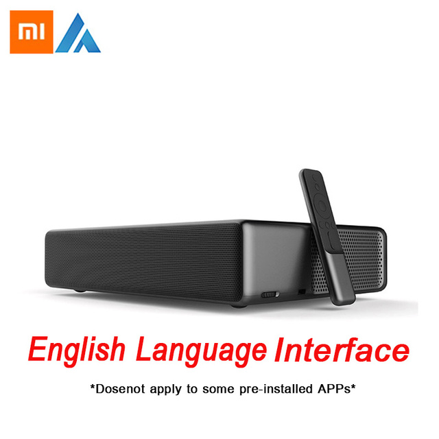 Xiaomi Fengmi Wemax one Laser Projector TV English Interface 5500 lumen 150 Inche 1080 Full HD 4K Support Bluetooth BT DOLBY DTS