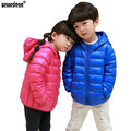 WEONEDREAM Duck Down Jacket Fashion Children Ultra Light Down Coat Down Boys Girls Winter Jacket Candy Color Duck Down Jacket