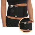 Concealed Handgun Carry Ultimate Belly Band Holster Pistol 19 17 39 42 43 P238 Ruger LCP Holsters for Men and Women