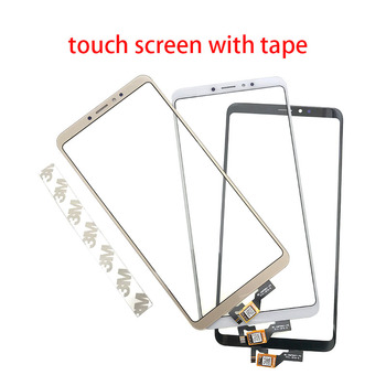 10 pcs/lots Touch Screen TouchScreen Sensor Digitizer Glass Panel Replacement For Xiaomi Mi Max 3 Max3