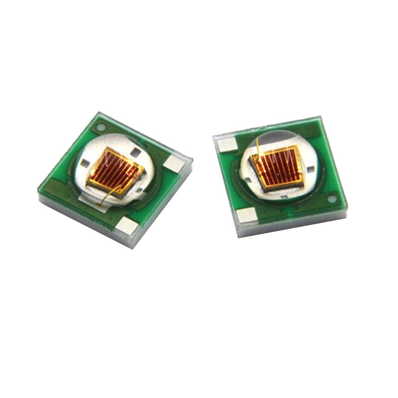 50pcs 3W <font><b>LED</b></font> SMD3535 chip blue red green royal 45mil flashlight 450 460 470 <font><b>490</b></font> 520 620 660nm HPO 42mil chip Ceramic substrate image