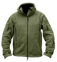 Fleece-Lined Warm Camping Jacket