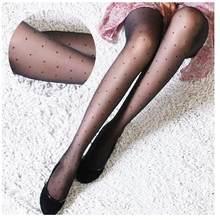 Meia-calça feminina clássico pequeno polka dot meias de seda. fina senhora vintage falso tatuagem meias meias meias meias femininas