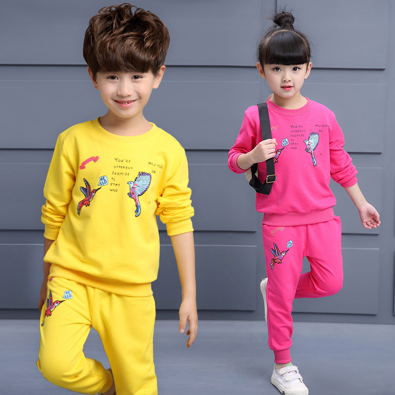 Child Sport Clothing Girls & Boys Sports Clothes Sets Baby