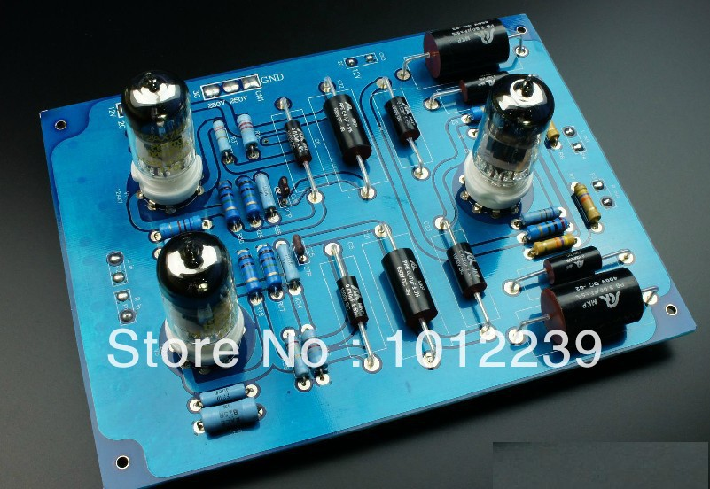 Assembled LS22 tube preamp finished board McIntosh C22 line цена