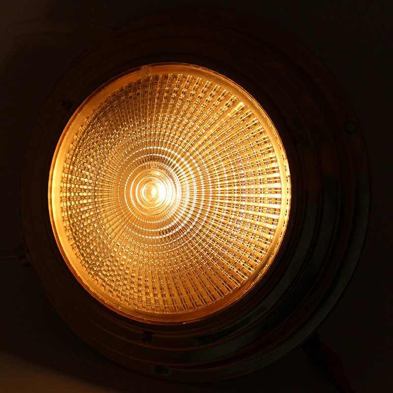 Image 2 - Brass Dome light Interior 137MM Base Marine Boat Yacht 3W Warm White LED Light 8 30V DC-in Marine Hardware from Automobiles & Motorcycles