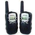 2 unids walkie talkie retevis rt-388 uhf 462.5625-467.7250 mhz 0.5 w 22ch para los niños del cabrito display lcd linterna vox radio a7027a