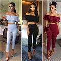 Women Hollow Out Jumpsuit Playsuit Work Night Club Bodycon Long Romper Trousers