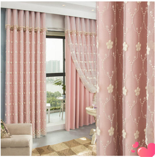 New Turkey High end Embroidered Window Curtain Korean Pastoral Style ...