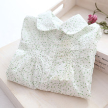 New Arrival Baby Girls Spring  Floral Blouses Girls Long Sleeve Floral Shirts Kids Cute Cotton Floral Blouses