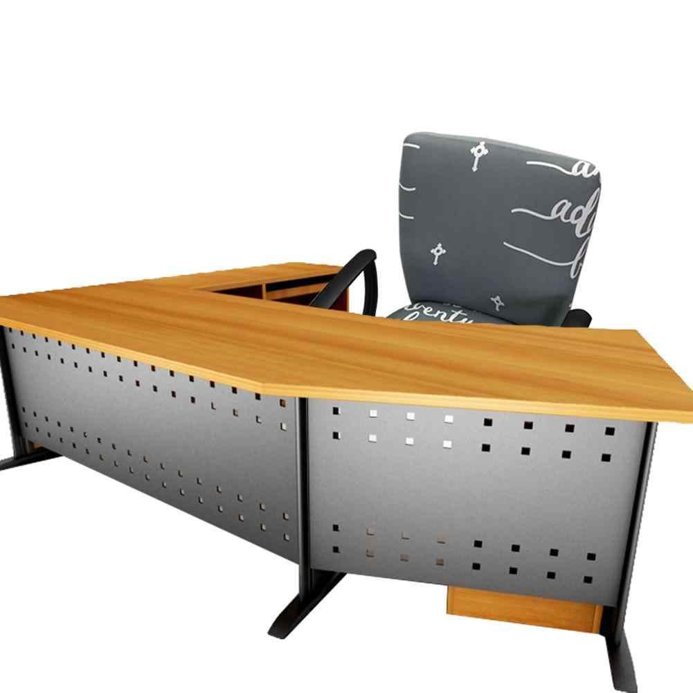 Elasticidade Do Computador Do Escritório moderno Tampa Da Cadeira Tampa Da Cadeira Trecho Elevador Rotativo Fácil Lavável Removível Sem Cadeira