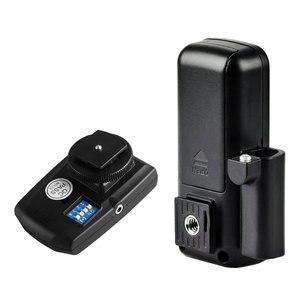 Image 4 - Беспроводной триггер Godox для камеры Canon, Nikon, Pentax, Olympus, 16 каналов, 2x приемник, вспышка