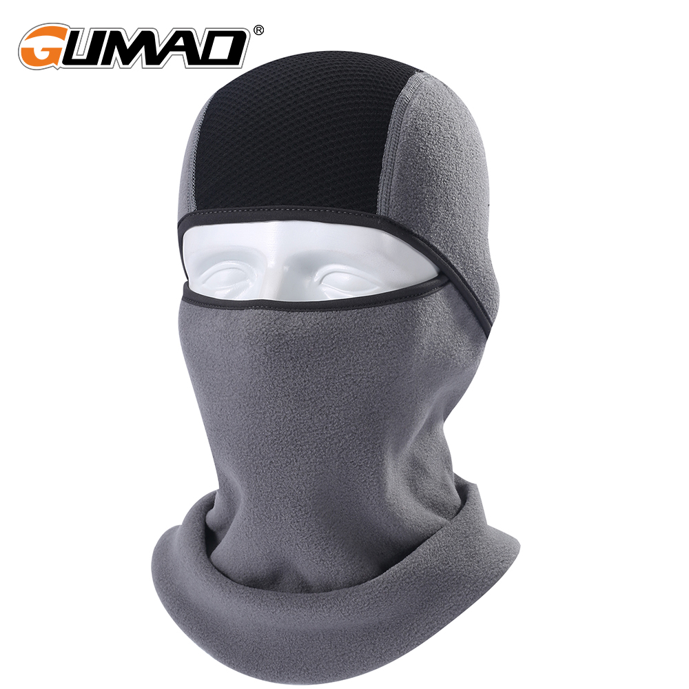 Bicycle Cycling Motorcycle Winter Face Mask Sports Ski Snowboard Hood Wind Stopper Face Mask Headgear Thermal Fleece Home