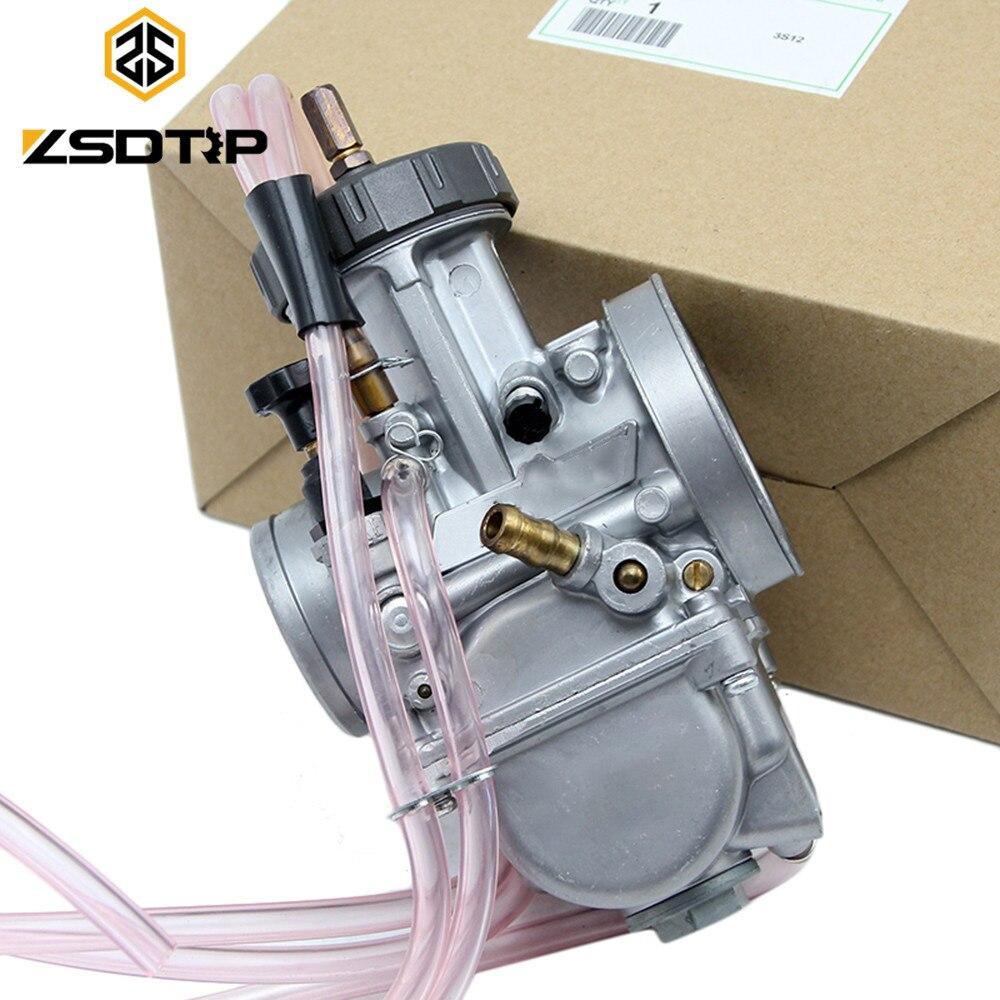 ZSDTRP PWK Keihin 33 34 35 36 38 40 42mm Carburetor Universal Used at Off road