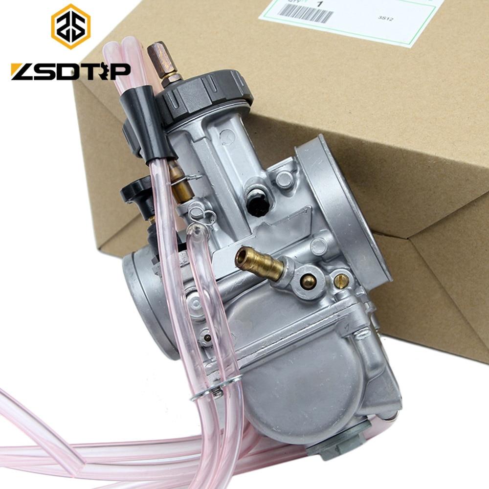 ZSDTRP PWK Keihin 33 34 35 36 38 40 42mm carburateur universel utilisé à moteur tout-terrain moteur de grande cylindrée modifier