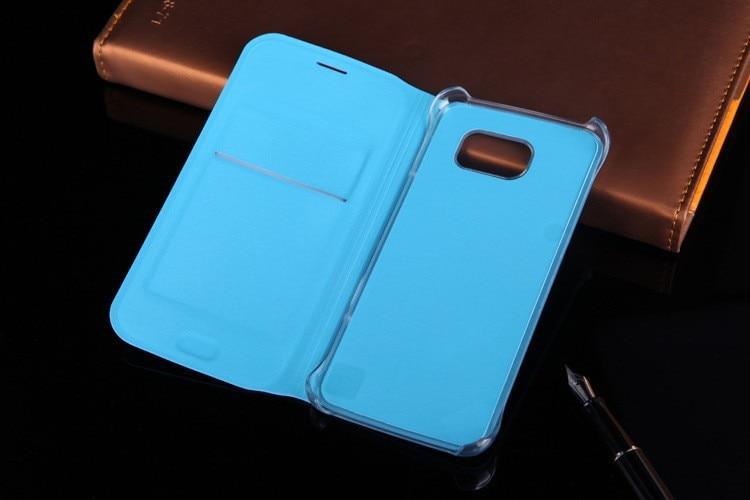 Läderplånbok för Samsung Galaxy S6 G920 G920F G920i G920H - Reservdelar och tillbehör för mobiltelefoner - Foto 2