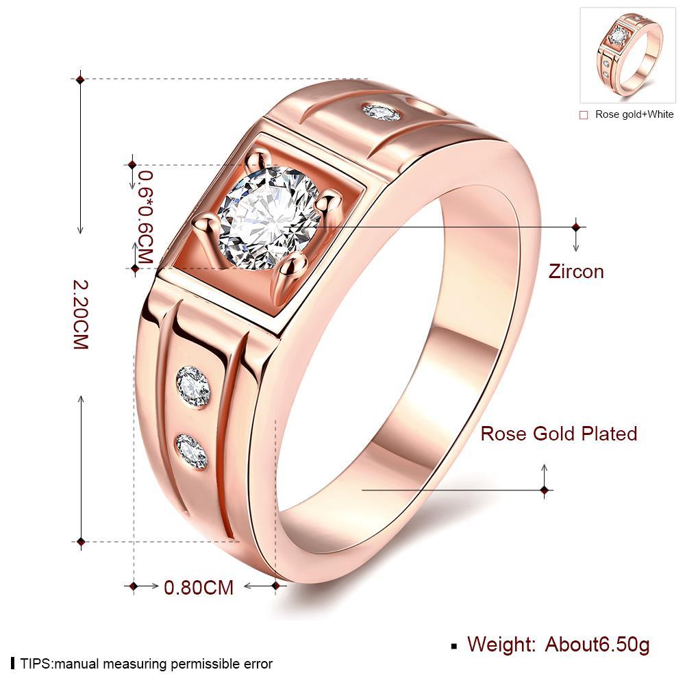 amarillos rose doradas white de oro for mann uomo white stone anelli anello bts de luxe nova gifts unique Dahu R Dahu Rico rings