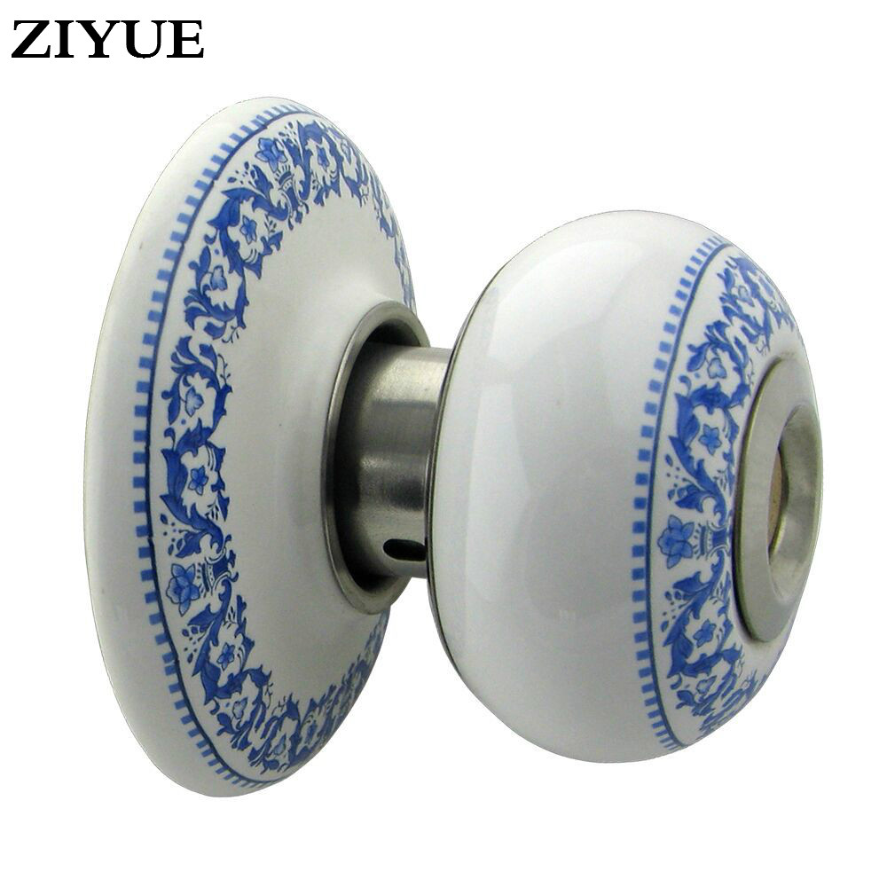 цена Free Shipping High Class Ceramic Lock Cylinder Door Lock indoor Mechanical Ceramic Ball Spherical Lock for Apartment Home door