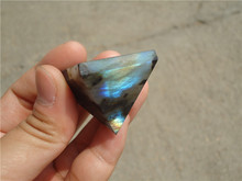 Natural Moonstone natural labradorite pyramid Decoration LA1120