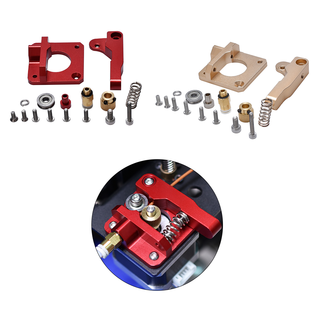 3D Printer Parts MK8 Extruder Upgrade Aluminum Alloy Block Bowden Extruder CR10 1.75MM Filament Extrusion For MK8 CR-10 Ender-3