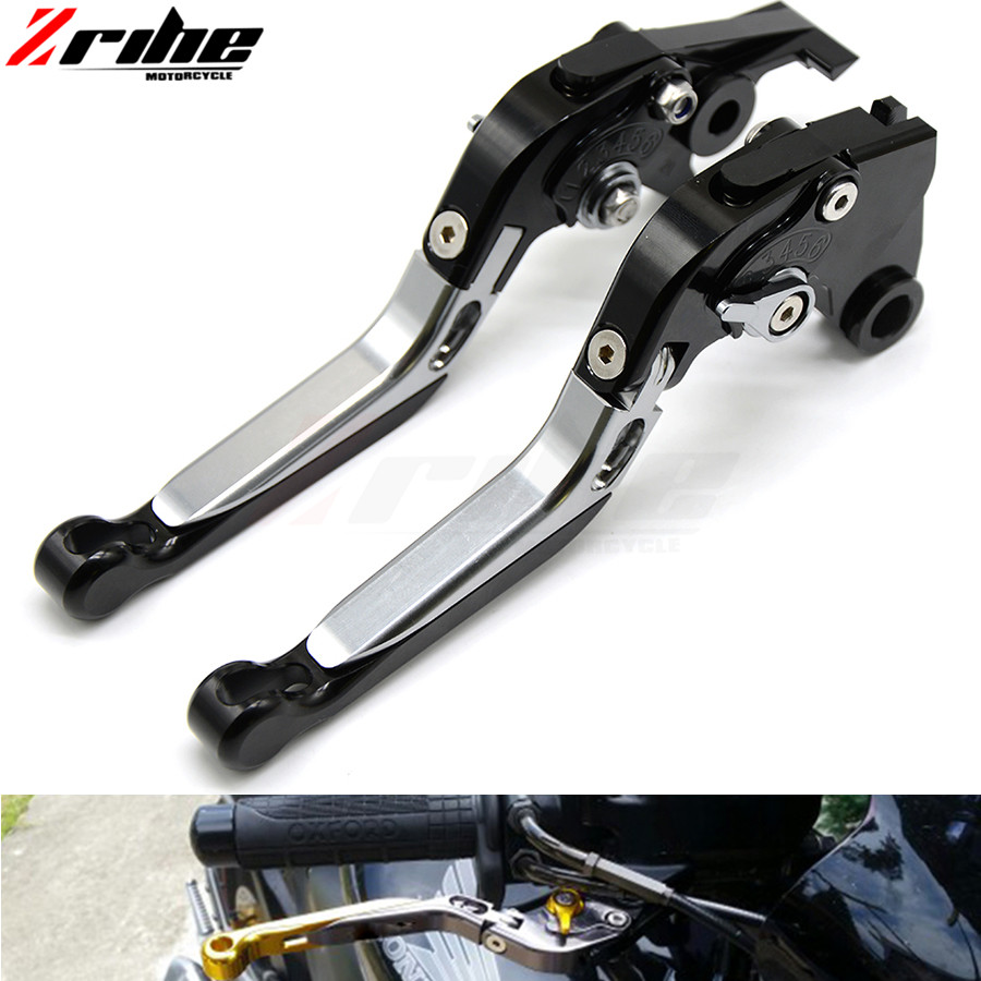 Folding Extending handlebar Brake Clutch Levers Telescopic adjustable motorbike brake For YAMAHA FZ6 FAZER 04-10 FZ6R 09-15 fz8 cnc billet adjustable long folding brake clutch levers for yamaha fz6 fazer 04 10 fz8 2011 14 2012 2013 mt 07 mt 09 sr fz9 2014