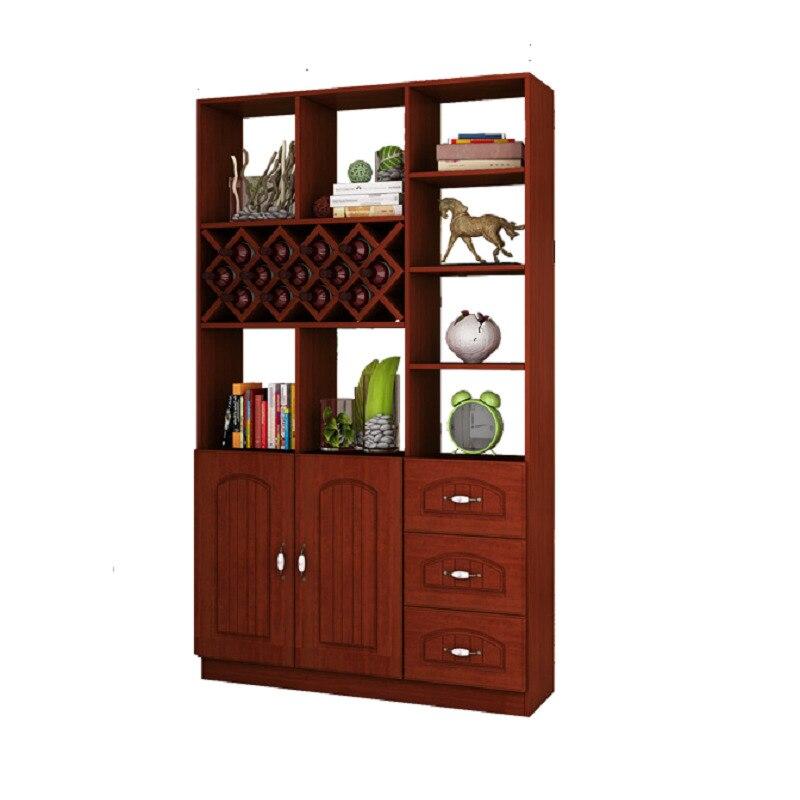 Adega vinho Display Shelves Cristaleira Shelf Table Dolabi Salon Kitchen Hotel Commercial Furniture Mueble Bar Wine Cabinet