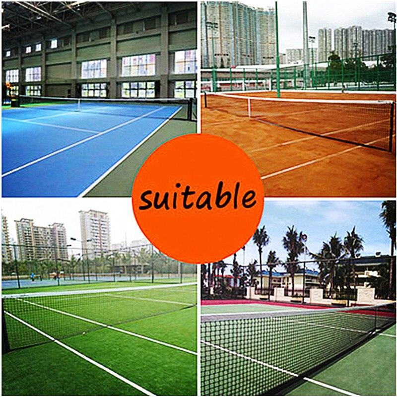 Portable Tennis Net 42ft 128cmX108cm Tennis & Racquet Sports Drop Outdoor Indoor Durable Standard For Match Training Net