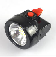 1W 4000 Lx Rechargeable LED Cordless Mining Cap Light KL2 5LM A Free Shipping