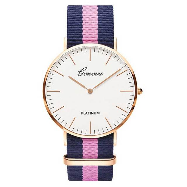 Hot Sale Nylon strap Style Quartz Women Watch Top Brand Watches Fashion Casual Fashion Wrist Watch Relojes 5