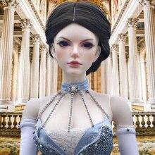 Lycra muñeca BJD SD 1/3 modelo de cuerpo para niñas, juguetes de resina, regalos para cumpleaños, ojos gratis