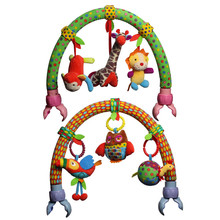 Baby Stroller Accessories & Part Arch Shape Decoration Music Rattle Toys for Infant
